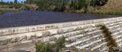 Clarendon  Weir Panorama