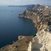 The Cliffs In Santorini Island