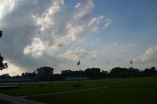 Clouds Over Mausoleum