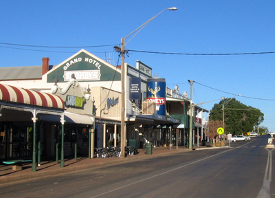 Main Street Of Cobar