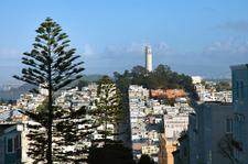 Coit Tower On Telegraph Hill