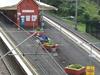 Coledale Railway Station Overhead