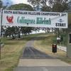 Collingrove Hillclimb Startline