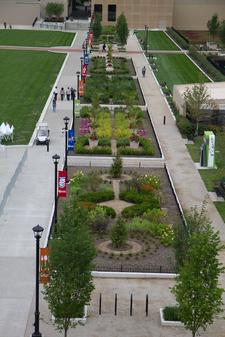 Columbus Commons Gardens