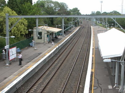 Concord West Railway Station