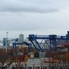 Container Ship Being Unloaded At Conley Terminal