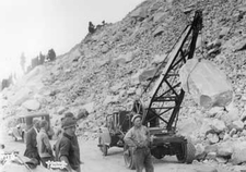 Construction Of Rim Drive Around Crater Lake