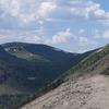 Continental Divide Trail In Weminuche Wilderness