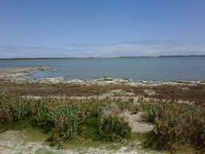The Coorong Looking Across Salt Creek