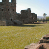 Courtyard Of The Trinidad Ruins