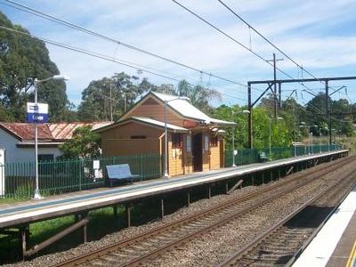 Cowan Railway Station
