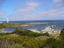 Currie Harbour King Island Australia