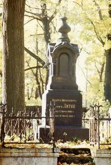 The Grave Of Fyodor Nikolajewitsch Litke