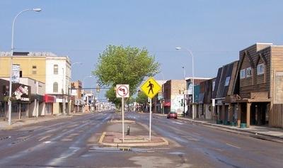 Dakota Avenue In Downtown Wahpeton