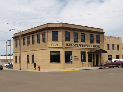 Dakota Western Bank Bowman North Dakota