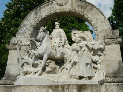Damjanich-monument, Szolnok