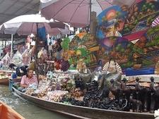 Damnoen Saduak Floating Market Novelty Items For Sale