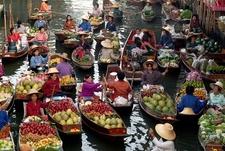 Damnoen Saduak Floating Market - Ratchaburi