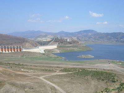 Dam On Tijuana River