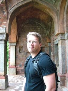 David Urmann At Humayun Tomb