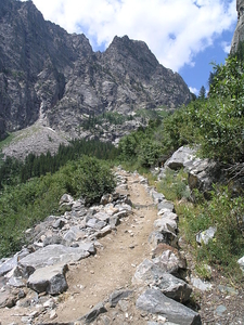 Death Canyon Trailviews - Grand Tetons - Wyoming - USA