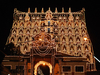 Lakshadeepam - Decorated With Night Lights