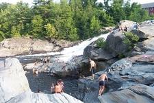 Swimming In Deerfield River