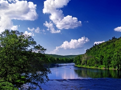 Delaware River View - Pike County PA