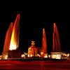 Democracy Monument At Night