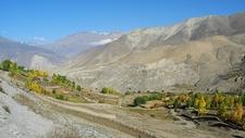 De Muktinath à Jomosom - Nepal Annapurnas