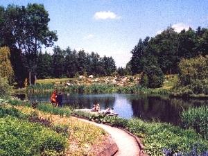 Jardín dendrológica de Przelewice