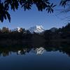 Deoria Lake And Reliction Of Chaukhamba Peak