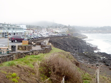 Depoe Bay Shoreline And Southerly Main Street