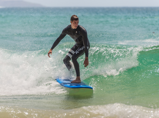 Surfing from Beginners to Advanced in Loreto Photos