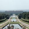 The View Down To The Palace Of Caserta
