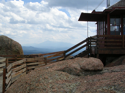 Watchtower With Pikes Peak