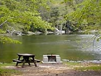 Devils Tombstone Campground