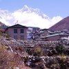 Dingboche With Lhotse Backdrop - Nepal Himalayas