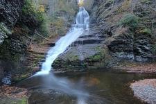 Dingmans Falls In Delaware Water Gap National Recreation Area PA