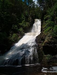 Dingmans Falls In Delaware Water Gap National Recreation Area - Pennsylvania