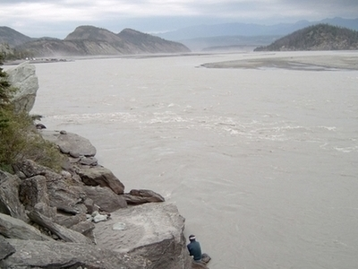 Dipnet Fisherman At Chitina River
