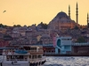 Distinct Mosque Minarets - Istanbul Overview