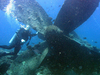 Diver Inspecting Wreck