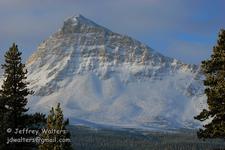 Divide Mountain At Glacier - USA