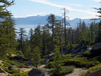 View Of Lake Tahoe From Bliss State Park