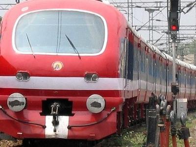 DMU Train In Ludhiana