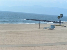 Dockweiler Beach In Los Angeles