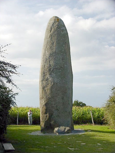 Dol-de-Bretagne Menhir - Brittany - France