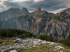 Dolomites On The Tre Cime Path