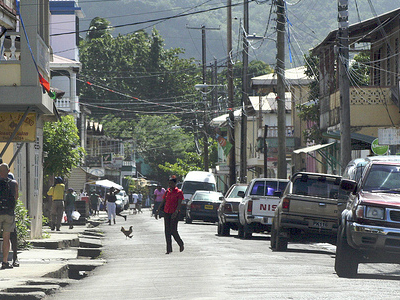 Dominica Portsmouth Street View